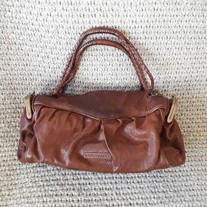 Vintage BCBGMaxazria brown duffle bag